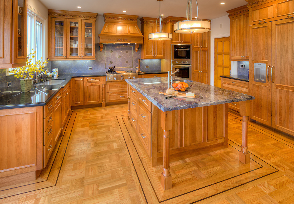 Residential kitchen remodel.