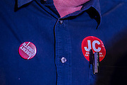 Jeremy Corbyn holds a campaign meeting as part of his Labour Party leadership challenge - with support of Ken Livingstone at the Camden Town Hall, London, UK 03 Aug 2015