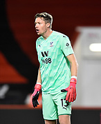 Wayne Hennessey (13) of Crystal Palace during the EFL Cup match between Bournemouth and Crystal Palace at the Vitality Stadium, Bournemouth, England on 15 September 2020.
