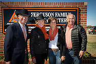 Announcement of the renaming of the OSU Dairy farm to reflect the gifts from the Ferguson Family. The facility will now be know as the Ferguson Family Dairy Center and will soon have new facilities to improve animal comfort and health as well as new housing for student workers.