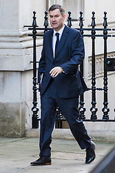 London, January 16 2018. Justice Secretary David Gauke attends the UK cabinet meeting at Downing Street. © Paul Davey