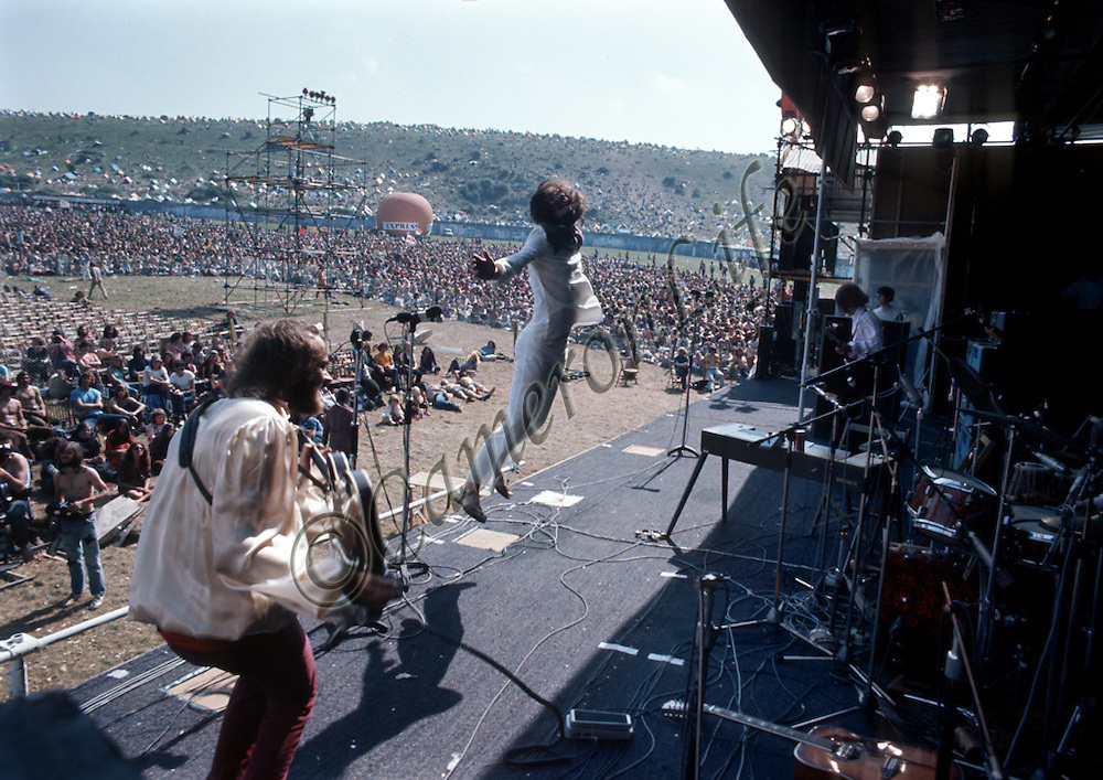 Fairfield Parlour - Isle of Wight Music Festival 1970, by Charles Everest. <br />
