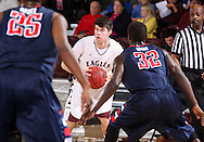February 13, 2014: The Rogers State University Hillcats play against the Oklahoma Christian University Eagles in the Eagles Nest on the campus of Oklahoma Christian University.