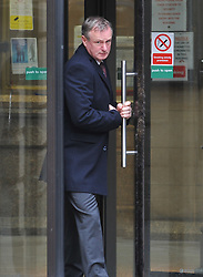 Manager of the Northern Ireland football team Michael O'Neill at Court in Edinburgh after being charged with drink driving in September on the Edinburgh City bypass. O'Neill has been widely tipped as a potential replacement for Gordon Strachan as Scotland manager.<br /> <br /> © Dave Johnston/ EEm