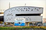 Nederland, Nijmegen, 11-9-2014 De Walvis, verkeerspost van rijkswaterstaat om het binnenscheepvaartverkeer op de waal en de ingang van het Maaswaalkanaal te begeleiden. De radarbeelden zien tot aan lobith. De sluis van Weurt is met video te controleren. Door personeelsproblemen en automatisering ontstaan gevaarlijke situaties op de drukke vaarwegen.Foto: Flip Franssen/Hollandse Hoogte