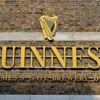 Guinness Brewery in Dublin, Ireland <br />