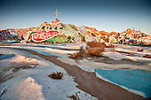 Salvation Mountain..