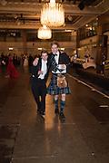TOM HOLLAND-HIBBERT; CHARLIE LONGSTAFF; , The Royal Caledonian Ball 2015. Grosvenor House. Park Lane, London. 1 May 2015.