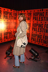 """Kim Sion at """"Hoping For Palestine"""" Benefit Concert For Palestinian Refugee Children held at The Roundhouse, Chalk Farm Road, England. 04 June 2018. <br /> Photo by Dominic O'Neill/SilverHub 0203 174 1069/ 07711972644 - Editors@silverhubmedia.com"""