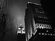 View of the Empire State building. Winter 2005, Photo by INDEPENDENT PHOTO AGENCY.....Vista del edificio Empire State. Invierno 2005. Foto por INDEPNDENT PHOTO AGENCY.