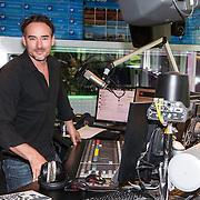 NLD/Hilversum/20140516 - Dj Afrojack voor één dag programmadirecteur Radio 538, Jeroen Nieuwenhuize