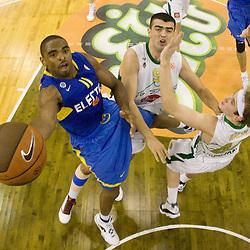 20091203: Basketball - Euroleague, KK Union Olimpija vs Maccabi Tel Aviv