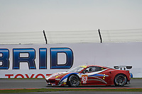 Franc?ois Perrodo (FRA) / Emmanuel Collard (FRA) / Rui Aguas (PRT) #83 AF Corse Ferrari F458 Italia,  at Silverstone, Towcester, Northamptonshire, United Kingdom. April 15 2016. World Copyright Peter Taylor.