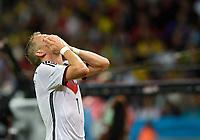 Fotball<br /> Tyskland v Algerie<br /> 30.06.2014<br /> VM 2014<br /> Foto: Witters/Digitalsport<br /> NORWAY ONLY<br /> <br /> Bastian Schweinsteiger (Deutschland)<br /> Fussball, FIFA WM 2014 in Brasilien, Achtelfinale, Deutschland - Algerien