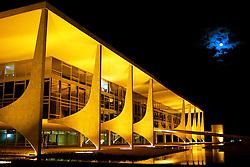 Vista da fachada do Palácio do Planalto, sede do governo federal em Brasíia. FOTO: Jefferson Bernardes/Preview.com