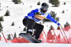 POZZERLE Manuel, SB-UL, ITA, Banked Slalom at the WPSB_2019 Para Snowboard World Cup, La Molina, Spain