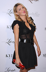 """Brandi Glanville attends the """"Beverly Hills Lifestyle"""" Fall 2012 Issue Launch Party at KYLE by Alene Too,  Thursday September 28, 2012. Photo By Simon Taylor / i-Images."""
