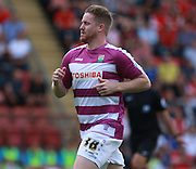 Barnet midfielder, Michael Gash during the Sky Bet League 2 match between Leyton Orient and Barnet at the Matchroom Stadium, London, England on 8 August 2015. Photo by Bennett Dean.