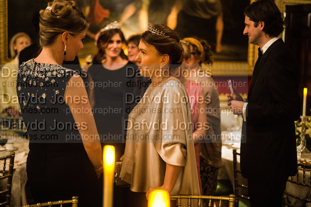 NATALIYA SHTEY GILARDONI; INNA BAZHENOVA, , Professor Mikhail Piotrovsky Director of the State Hermitage Museum, St. Petersburg and <br /> Inna Bazhenova Founder of In Artibus and the new owner of the Art Newspaper worldwide<br /> host THE HERMITAGE FOUNDATION GALA BANQUET<br /> GALA DINNER <br /> Spencer House, St. James's Place, London<br /> 15 April 2015