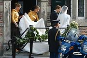 Zijne Hoogheid Prins Floris van Oranje Nassau, van Vollenhoven en mevrouw mr. A.L.A.M. Söhngen zijn zaterdag 22 oktober in de kerk van Naarden in het  huwelijk getreden. De prins is de jongste zoon van Prinses Magriet en Pieter van Vollenhoven.<br /> <br /> Church Wedding Prince Floris and Aimée Söhngen. <br /> <br /> Church Wedding Prince Floris and Aimée Söhngen in Naarden. The Prince is the youngest son of Princess Margriet, Queen Beatrix's sister, and Pieter van Vollenhoven. <br /> <br /> Op de foto / On the photo;<br /> <br /> <br /> <br /> Zijne Hoogheid Prins Pieter-Christiaan van Orjanje-Nassau, van Vollenhoven en Hare Hoogheid Prinses Anita van Oranje-Nassau, van Vollenhoven<br /> <br /> His highness prince Pieter-Christiaan van Orjanje-Nassau, of Vollenhoven and her highness princess Anita van Oranje-Nassau, of Vollenhoven<br /> <br /> <br /> Zijne Hoogheid Prins Floris Frederik Martijn van Oranje-Nassau, Van Vollenhoven en Prinses Aimée Leonie Allegonde Marie Söhngen <br /> <br /> His highness prince Floris Frederik Martijn van Oranje-Nassau, Van Vollenhoven and Pricess Aimée Leonie Allegonde Marie Söhngen