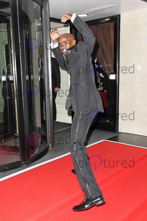 LONDON - September 01: Mo Farah attended 'A Night of Champions' at the Grosvenor House Hotel, London, UK. September 01, 2012. (Photo by Richard Goldschmidt)