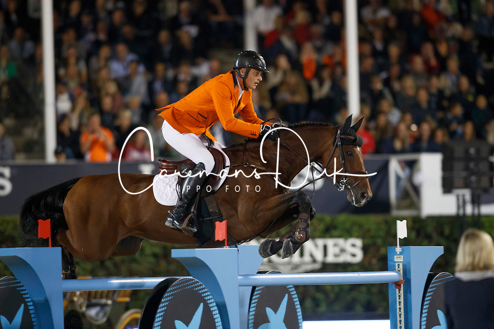 Houtzager Marc, NED, Sterrehofs Calimero<br /> CSIO Barcelona 2017<br /> © Hippo Foto - Dirk Caremans<br /> 30/09/2017