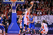 Achille Polonara<br /> Grissin Bon Pallacanestro Reggio Emilia - Germani Basket Leonessa Brescia<br /> Lega Basket Serie A 2016/2017<br /> Reggio Emilia, 27/03/2017<br /> Foto M.Ceretti / Ciamillo - Castoria