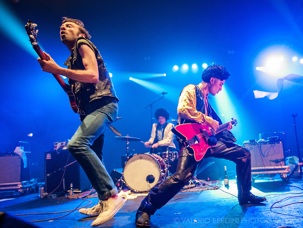 Black Lips opening for Fat White Family at the Brixton Academy. 17 September 2016, London.