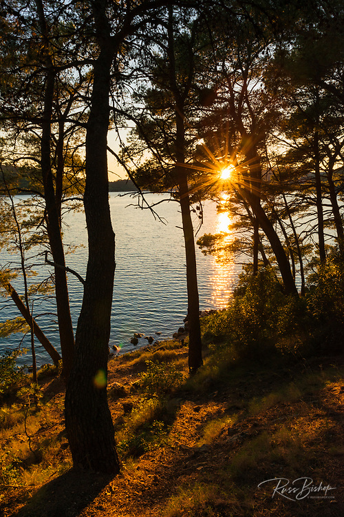 Sunset at Soline, Mljet Island National Park, Dalmatia, Croatia