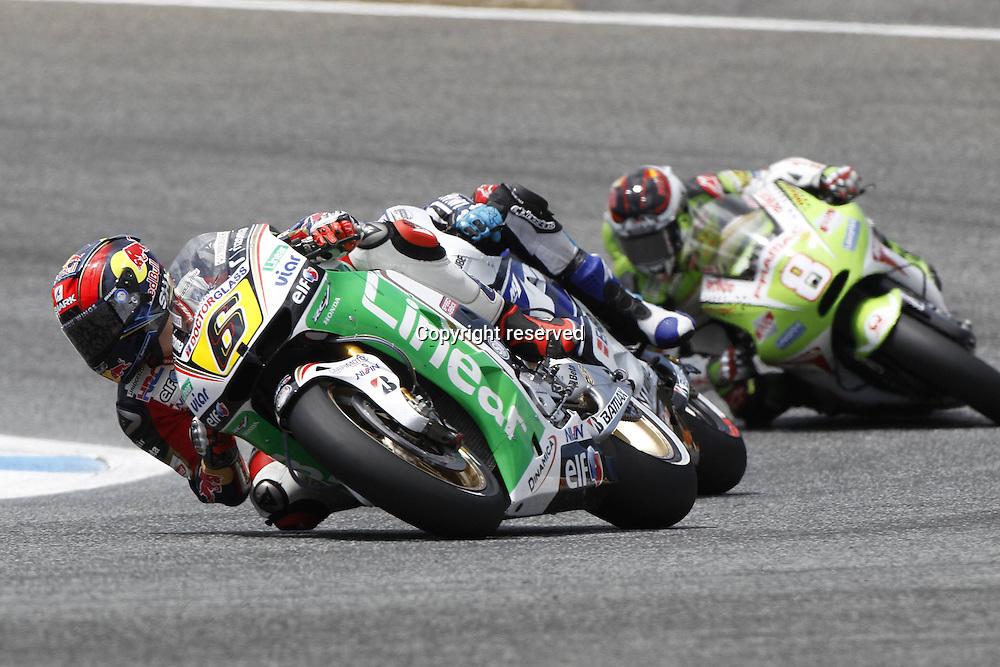 06.05.2012. Estoril, Portugal. Moto Grand Prix of Estoril. in The Picture Stefan Bradl LCR Honda team