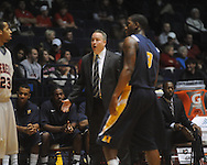 "Murray State coach Billy Kennedy at the C.M. ""Tad"" Smith Coliseum in Oxford, Miss. on Wednesday, November 17, 2010."