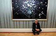 13/10/2009 Damien Hirst returns to painting in an exhibition of new work at London's Historic Wallace Collection. The exhibition titled 'No Love Lost, Blue Paintings' is a return to solitary painting in contrast to Hirst's more well known works.