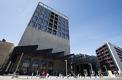 September 9, 2018 - Cape Town, SOUTH AFRICA - Illustration taken during the Vice-Prime Minister and Foreign Minister Didier Reynders' visit to the Mocaa Zeitz Museum Contemporary Art Africa, on the fourth day of a diplomatic visit of the Belgian Foreign Minister to various African countries, Sunday 09 September 2018 in Cape Town, South Africa.  (Credit Image: © Benoit Doppagne/Belga via ZUMA Press)