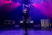 The Kooks perform on February 12, 2019 at the Hollywood Palladium in Los Angeles, California (Photo: Charlie Steffens/Gnarlyfotos)