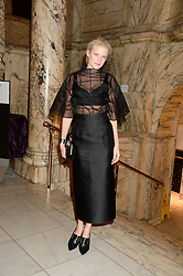FIONA SCARRY at the WGSN Global Fashion Awards held at the V&A museum, London on 30th October 2013.
