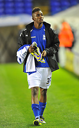 Birmingham City's Demarai Gray -  - Photo mandatory by-line: Alex James/JMP - Tel: Mobile: 07966 386802 29/10/2013 - SPORT - FOOTBALL - ST Andrew's - Birmingham - Birmingham City v Stoke City - Capital One Cup - Forth Round