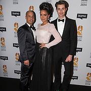NLD/Hilversum//20140318 - Inloop Buma Awards 2014, Eva Simons en