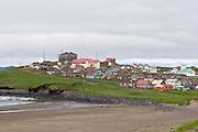 City of St. Paul, St. Paul Island, Pribilof Islands, Alaska. Digital original ©Robin Brandt  #07_1417