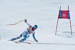 THOMAS Hugo Guide BERGAMIN Luana, SUI, Downhill, 2013 IPC Alpine Skiing World Championships, La Molina, Spain