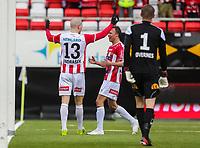FotballFørstedivisjonTromsø IL vs HamKam27.04.2014Zdenek Ondrasek, TromsøChristophe Psyche, HamKamLars Øvernes, HamKam