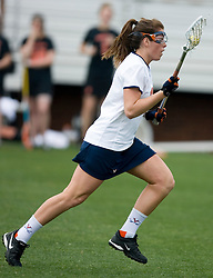 Virginia Cavaliers M Brittany Kalkstein (17) in action against Princeton.  The Virginia Cavaliers women's lacrosse team defeated the Princeton Tigers 9-7 at Klockner Stadium in Charlottesville, VA on March 24, 2007.