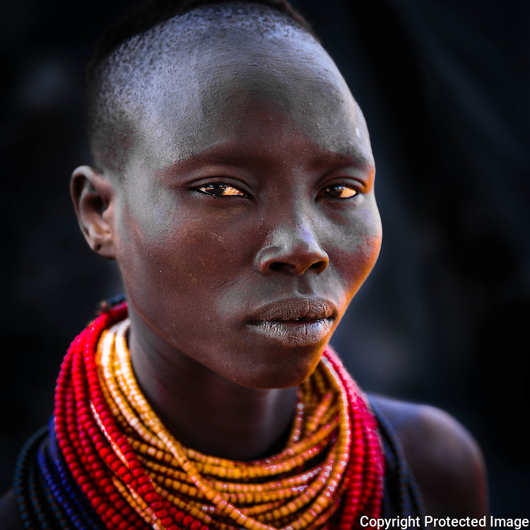 Ethiopia, Omo Valley, Karo Tribe, Koncho Village