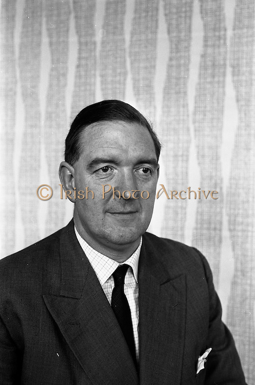 20/03/1963<br /> 03/20/1963<br /> 20 March 1963 <br /> Mr. Dudley Mott,General Assistant to the manager, W.D. & H.O., Wills and William Clarke and Son. of Dublin and Cork. Mr Mott was about to become Manager of the company in Ireland as Mr Ware was promoted to Assistant to the Managing Director in Bristol, England.