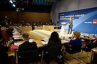 19 MAY 2005, BERLIN/GERMANY:<br /> Franz Muentefering, SPD Parteivorsitzender, haelt eine Rede, zur Eroeffnung des 4. Programmforums der SPD zur Fortschreibung des SPD  Grundsatzprogramms, Willy-Brandt-Haus<br /> IMAGE: 20050519-01-008<br /> KEYWORDS: Franz Müntefering, speech, Übersicht, Uebersicht