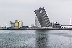 16.04.2000 DLG silo lagt ned i Esbjerg.