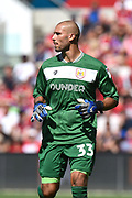 Niki Maenpaa (33) of Bristol City during the EFL Sky Bet Championship match between Bristol City and Nottingham Forest at Ashton Gate, Bristol, England on 4 August 2018. Picture by Graham Hunt.
