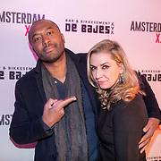 NLD/Amsterdam/20180320 - Presentatie 6de AmsterdamXXXL, Joao Varela en partner Stephanie Eijkhoudt