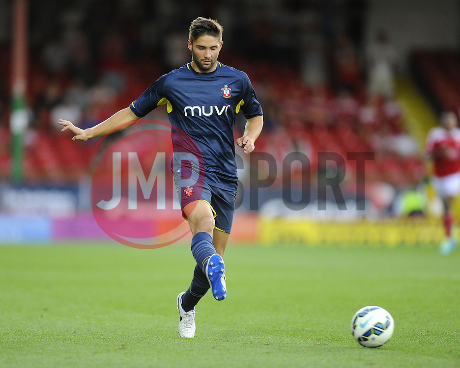 Southampton's Jordan Turnball - Photo mandatory by-line: Joe Meredith/JMP - Mobile: 07966 386802 21/07/2014 - SPORT - FOOTBALL - Swindon - County Ground - Swindon Town v Southampton