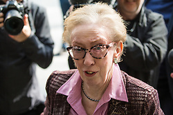 London, UK. 30th April 2019. Dame Margaret Beckett MP arrives for a Labour Party NEC meeting to confirm plans for Labour's EU election manifesto, including its stance with regard to a second referendum.