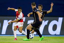 Alexis Sanchez #17 of Arsenal F.C. during football match between GNK Dinamo Zagreb, CRO and Arsenal FC, ENG in Group F of Group Stage of UEFA Champions League 2015/16, on September 16, 2015 in Stadium Maksimir, Zagreb, Croatia. Photo by Urban Urbanc / Sportida